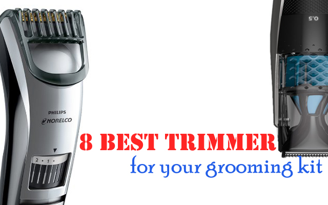 8 best trimmers for your grooming kit