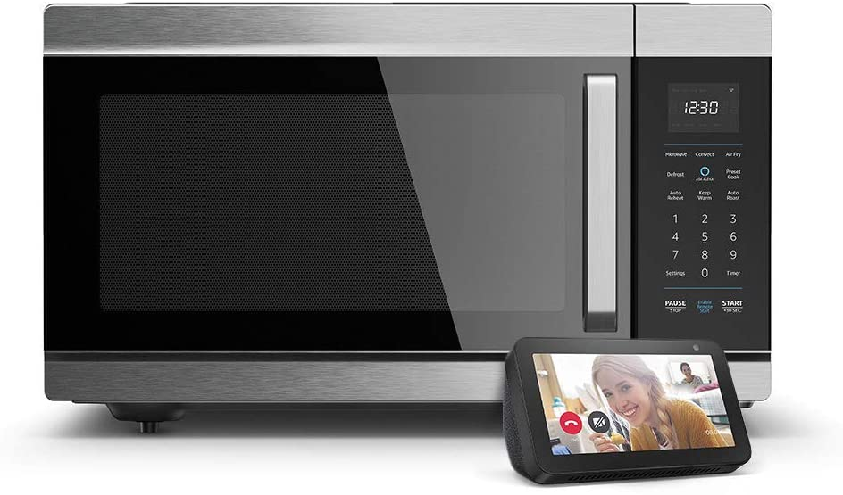 Alexa Smart Oven and Echo Show 5